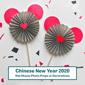 rat mouse decorations or photo props