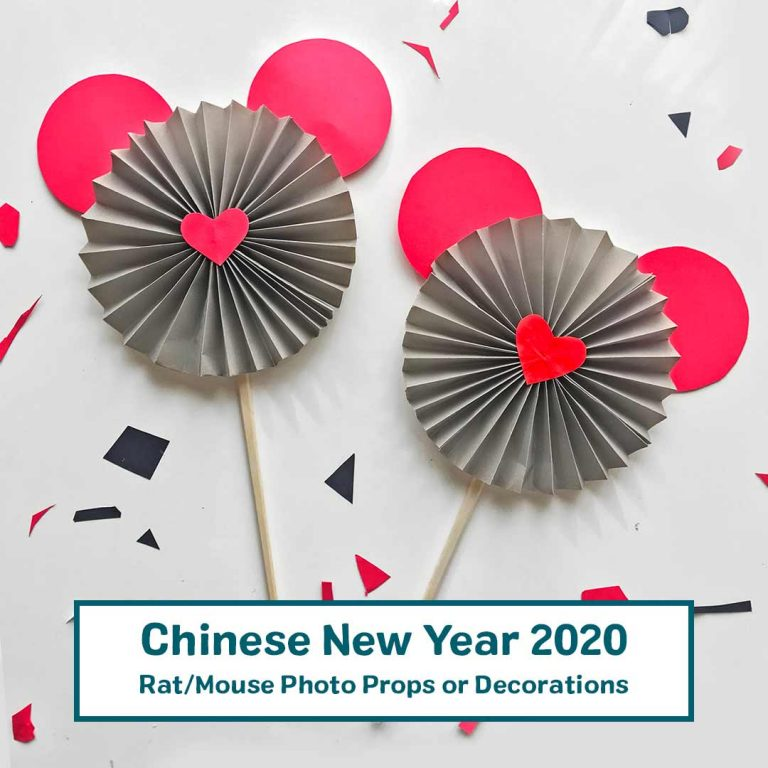 Rat Mouse Decoration and Photo Prop