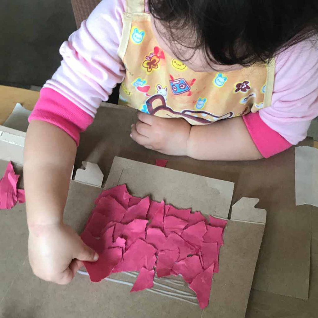 Dragon Activity Glue Paper
