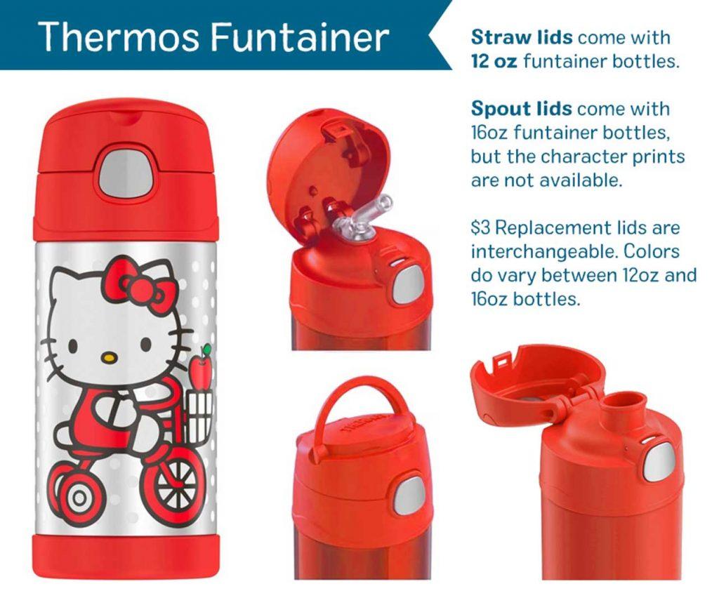 Thermos Funtainer Hello Kitty