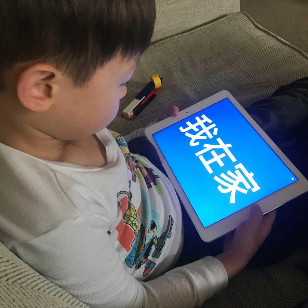 iPad Chinese Characters