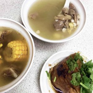 Lan Jia soups and zhongzi
