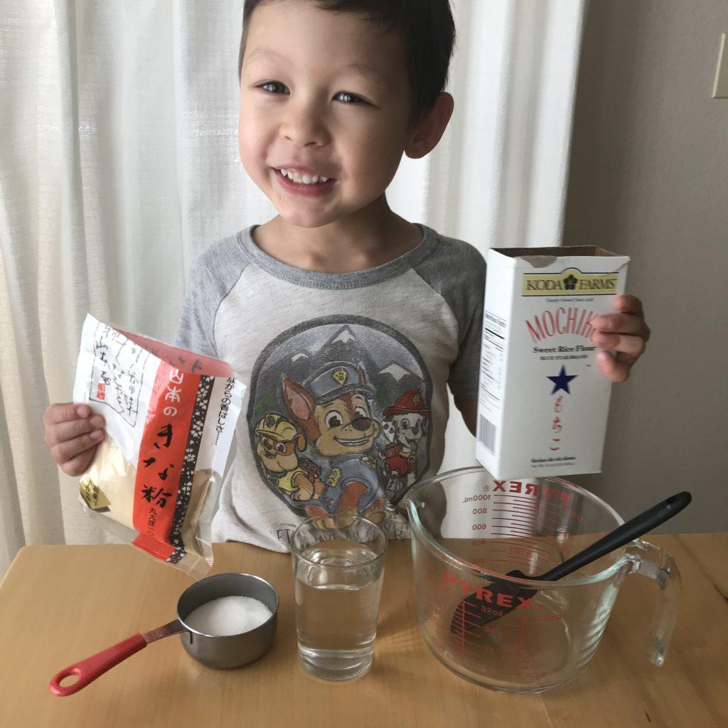 Muah Chee Ingredients