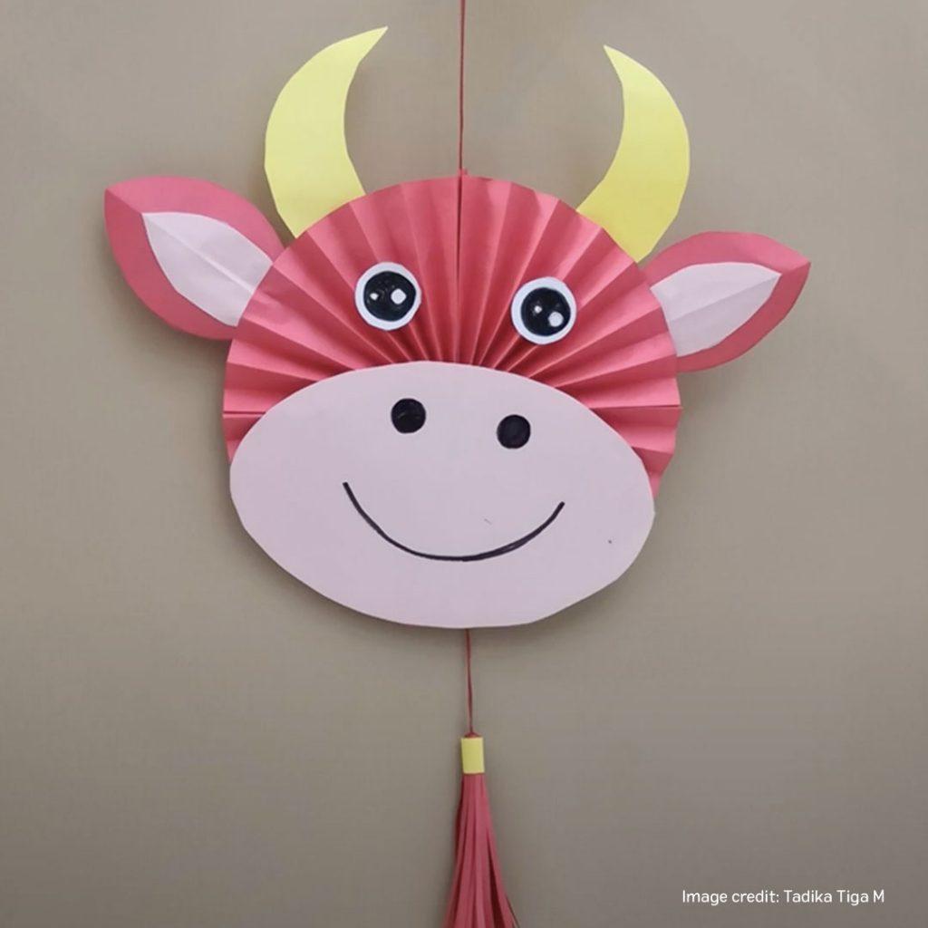 lunar new year ox charm DIY craft