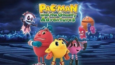 Netflix shows in Chinese - Pac-Man Ghostly Adventures