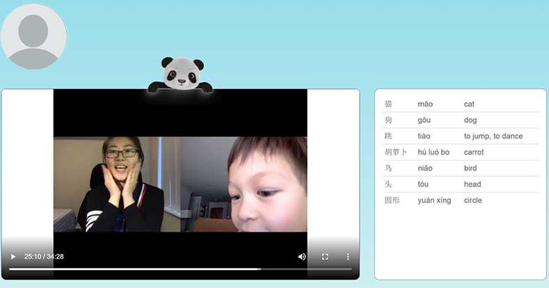 Panda Tree Online Chinese Class