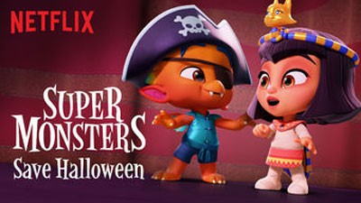 Netflix shows in Chinese - Super Monsters Save Halloween
