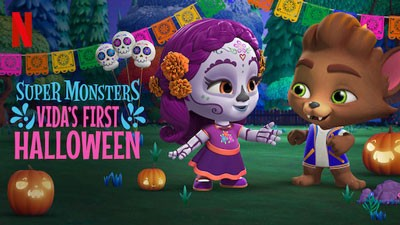 Netflix shows in Chinese - Super Monster's Vida's First Halloween