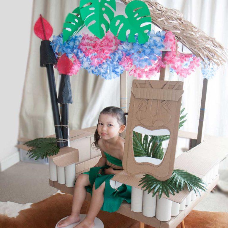 Hawaiian Birthday Theme DIY