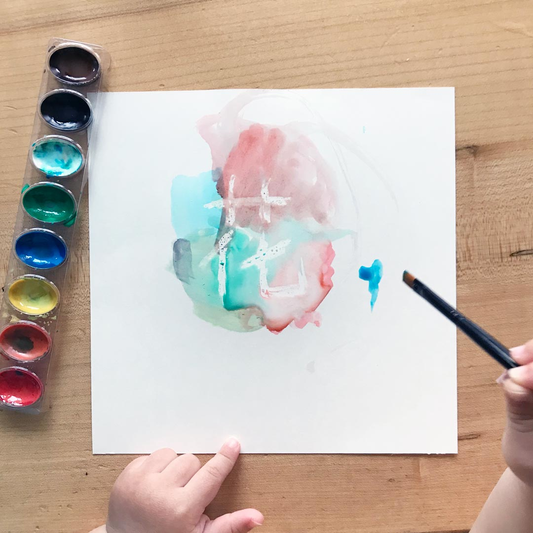 Watercolor Appearing Art